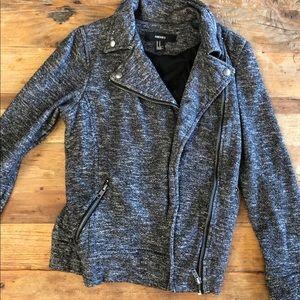Forever 21 Cotton Moto Jacket
